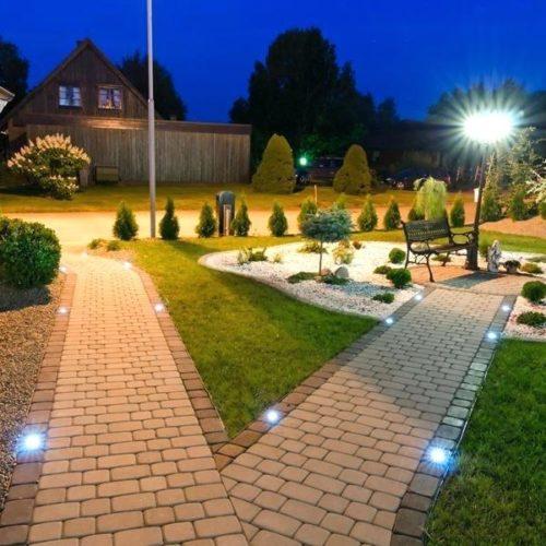 Lumière éclairage jardin